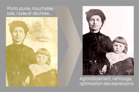 Restauration de photos